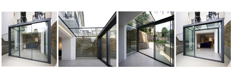 Modern Glass Extensions glass extensionsvitrendo | vitrendo